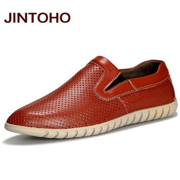 Men shoes breathable casual slip on men loafers luxury male moccasins fashion men's flats