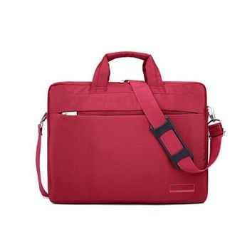Red Laptop Bag for Women 14 Inches Laptop Messenger Bag
