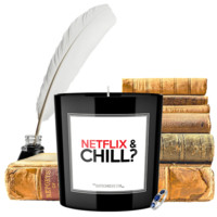 Netflix & Chill? | Quote Candles®