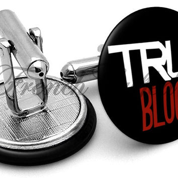 True Blood Logo Cufflinks