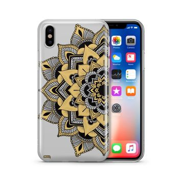 Mantilla Mandala - Clear Case Cover Phone Case