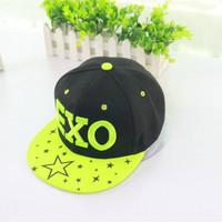 EXO Letter Korean Style Surf Hip Hop Cap