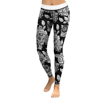 Skull Leggings & Yoga Pants High Quality Style 7