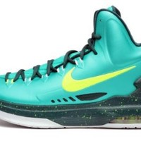 Nike KD V Mens Size 11 Green Basketball Shoes UK 10