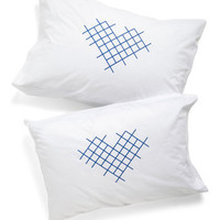 Cross-stitch My Heart Pillowcase Set