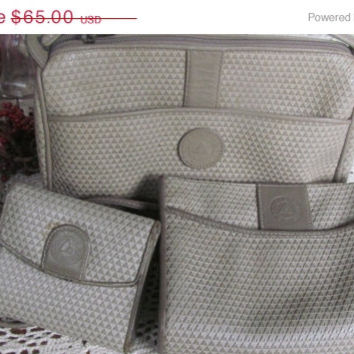 SALE 3 pc SET Organization Galore Liz Claiborne Handbags Wallet Liz Claiborne Purse Set 1980s Handbags