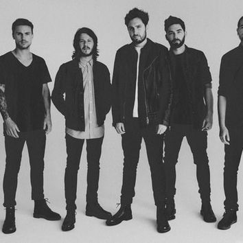 You Me At Six Black & White Portrait Poster