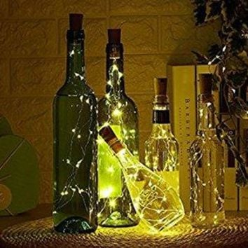 4 Pack of Wine Bottle Cork String Light Sets