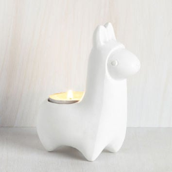 Llama Baby, Light My Fire Votive Holder