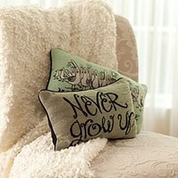 Peter Pan Pillow - ''Never Grow Up'' | Disney Store