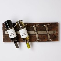 Reclaimed Wine Rack by Anthropologie in Brown Size: One Size Kitchen