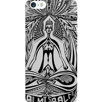 The Buddha Rests In The Lotus iPhone 5 / 5S Case Cover