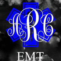 EMT Monogram Vinyl Outdoor Decal