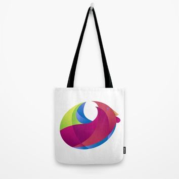 Rooster zodiac  of year 2017 Tote Bag by Martins