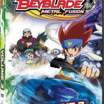 BEYBLADE: METAL FUSION VOL 3