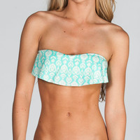 O'neill Delilah Bikini Top Turquoise  In Sizes