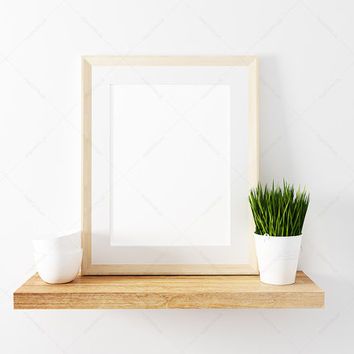 8x10 Mockup / Frame Mockup /  8x10 picture frame / 8x10 photo frame / wood 8x10 frame