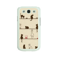 Cat,Samsung note3 case,Samsung S4 Active case,Samsung S3 case,Samsung Note2 case,samsung S4 case,Samsung S4 mini,S3 mini Case,iphone 5C case