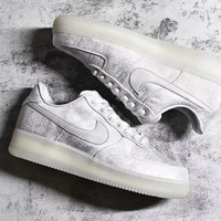 [ Free  Shipping ]Nike Air silk Grey Running Sneaker