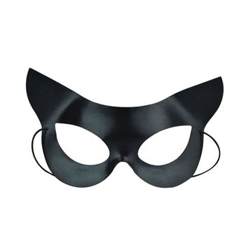 Black Eye Half Face Mask Sexy Catwoman Mask for Halloween masquerade Costume Party Ball Fancy Dress