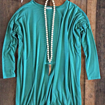 Piko Tunic - Kelly Green