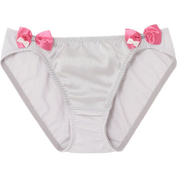 pink bow nickers