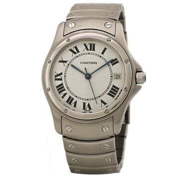 Cartier Cougar swiss-automatic womens Watch (Certified Pre-owned)