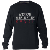 American horror story coven Sweatshirt Sweater Crewneck Men or Women Unisex Size