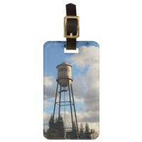 Campbell CA Water Tower Luggage Tag
