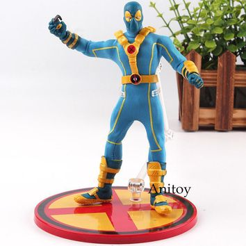 Deadpool Dead pool Taco X-MEN  Blue ONE:12 Collective Ver. PVC Mezco 1:12 X-man Action Figure  Figurine Collectible Model Toys Doll AT_70_6