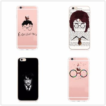 OWNEST free shipping Harry Potter Case for iphone 6 6S SE 7 7plus 8plus XS XSMAX Soft Silicone TPU Phone Back Cover Capinha Coqu