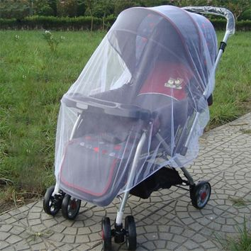 Kid Stroller Mosquito Insect Net Mesh Cover