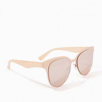 Mirrored Metallic Cateye Sunglasses | Charming Charlie
