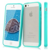 [Windowcell] Iphone 5c - Clear Pc+tpu Cover - Hot Babe Blue Pctpu