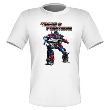 Brand New Fun Transformers T-shirt Optimus Prime Autobots All Sizes
