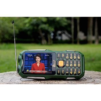 Power Bank TV-FM Dual Flashlight Mobile Phone
