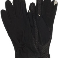 Amazon.com: Isotoner Women's Smartouch Tech Stretch Gloves, Black, Medium/Large: Clothing
