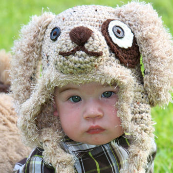 PATTERN Gromit Puppy Hat Crochet PDF Pattern by FashionPatterns