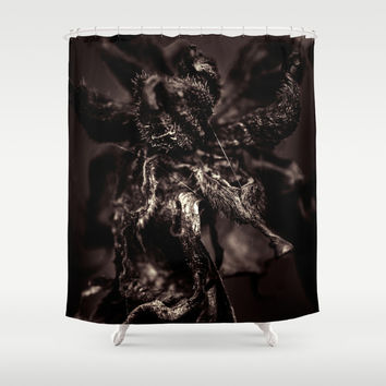 Anti-colours of decay Shower Curtain by HappyMelvin