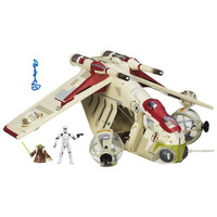 Star Wars, Vintage Collection, Republic Gunship Vehicle, Antique Alchemy