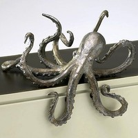 Nautical Luxuries Coastal Decor & Gifts - Denizen Of The Deep Shelf Edge Sculpture