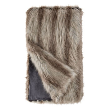 Silver Fox Limited Edition Throw Blanket