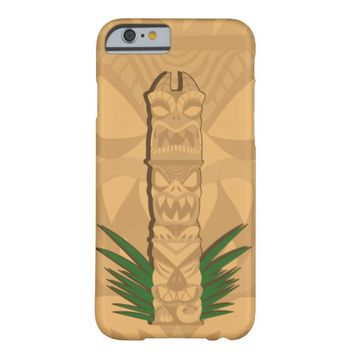 Dinosaur Tiki Totem Barely There iPhone 6 Case