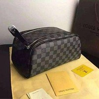 Tagre™ LV LOUIS VUITTON TOILETRY COSMETIC BAG BAGS PURSE WALLET I