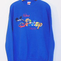 vintage retro disney world souvenir sweatshirt crewneck 90s cinderella mickey mouse snow white lion king