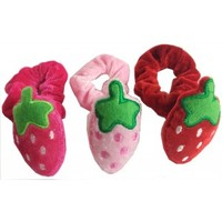 Hollywood Mirror | PLUSH BERRY HAIR SCRUNCHIE PK OF 12 - HAIR ACCESSORIES - ACCESSORIES