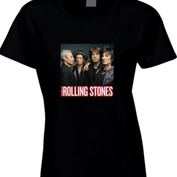 The Rolling Stones Cover Photo Arf Womens T Shirt