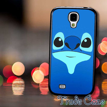 Stitch Blue Face Cute,Accessories,Case,Cell Phone, iPhone 4/4S, iPhone 5/5S/5C,Samsung Galaxy S3,Samsung Galaxy S4,Rubber,19/12/05/Rk