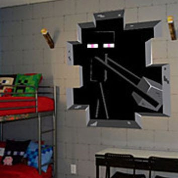 3D Wall Stickers Wall Decals Minecraft PVC Wall Stickers Part 44