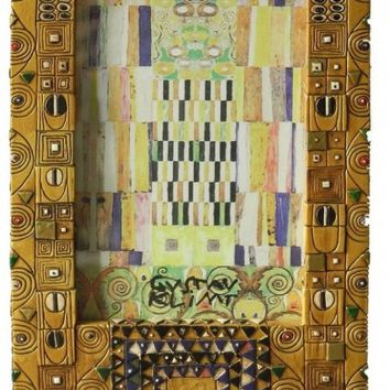 Klimt Pattern Desk Photo Frame 9H - KL33